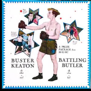 Advertisement - Battling Butler