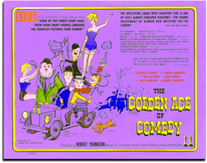 Advertisement - The Golden Age of Comedy