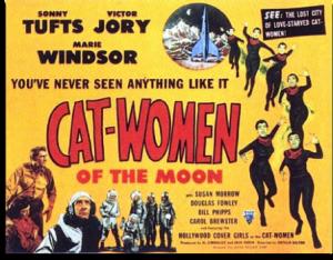 Lobby Card - Cat-Women of the Moon