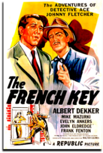 Poster - The French Key