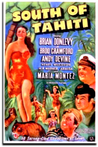Poster - South of Tahiti
