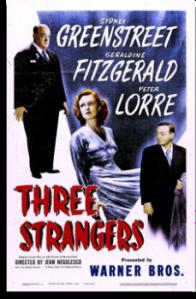 Poster - Three Strangers