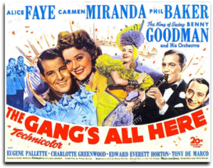 Lobby card - The Gang's All Here