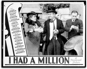 Lobby card - If I had a Million