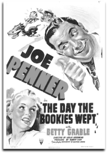 Poster - The Day the Bookies Wept