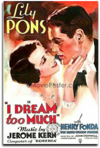 Poster - I Dream Too Much