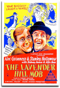 Poster - The Lavender Hill Mob